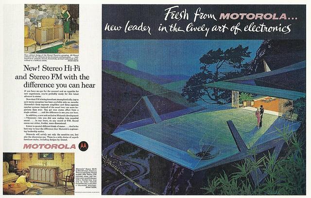 Mid-Century modern advertising | Flickr