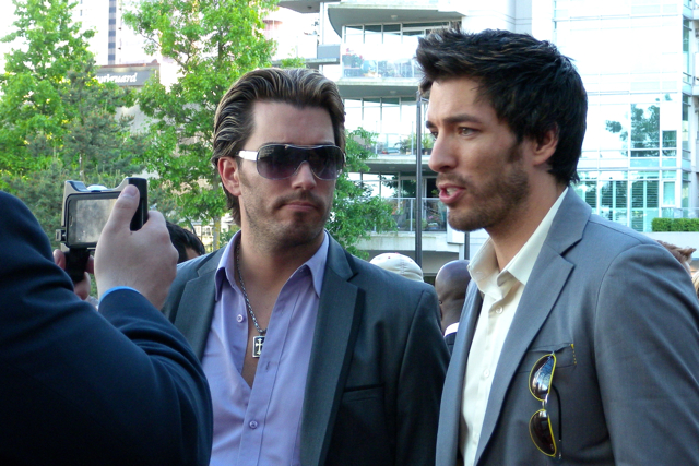 Jonathan silver scott drew scott at the leo awards flickr for Is jonathan from property brothers gay