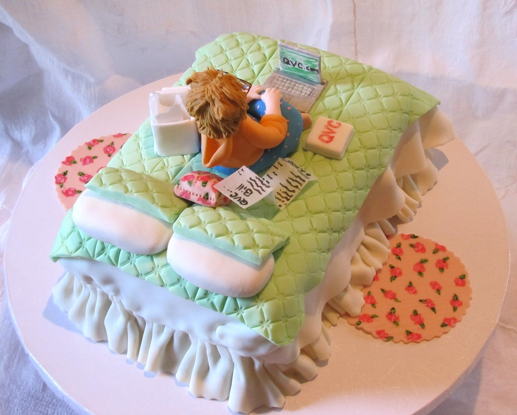 Qvc Sugar Shopper Birthday Cake This Cake Was Payback