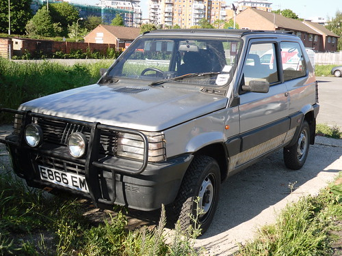 1988 fiat panda 999cc 4x4 s r hatchback the great thing ab flickr. Black Bedroom Furniture Sets. Home Design Ideas