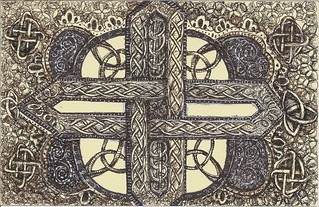 Celtic cross | by molossus, who says Life Imitates Doodles