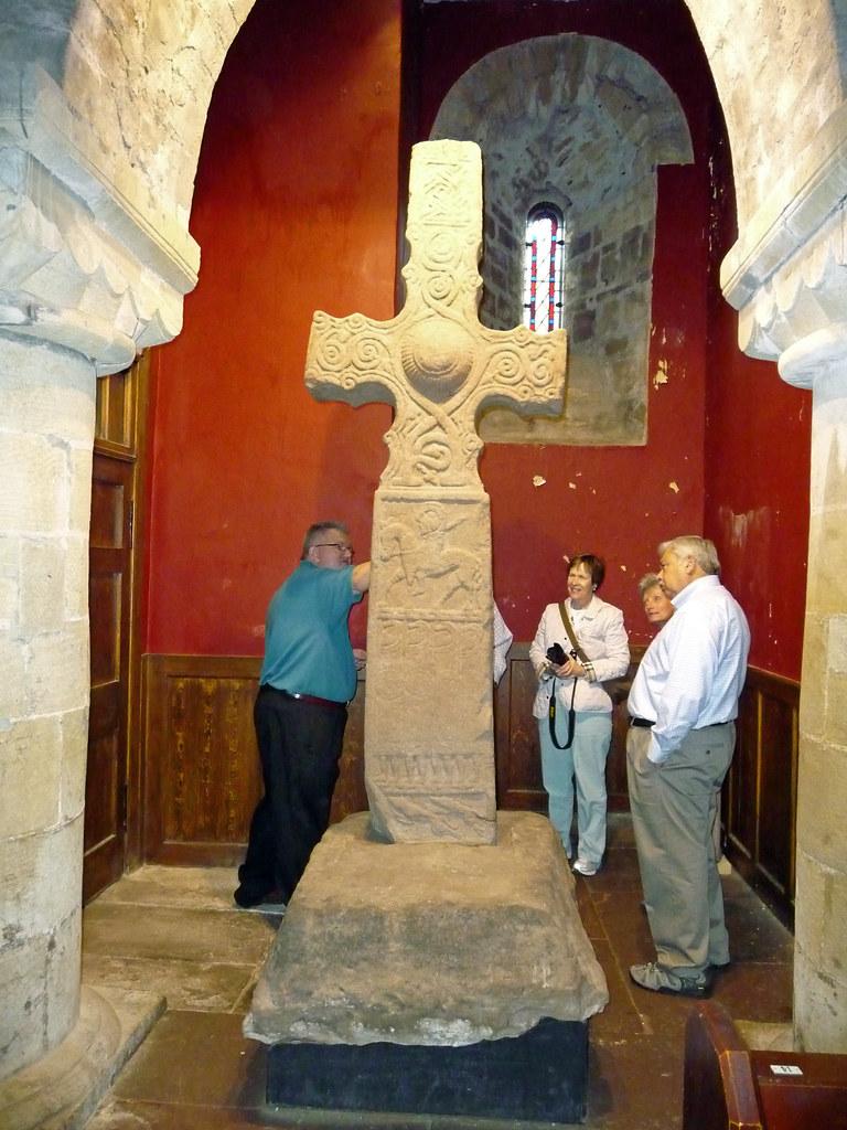 Dupplin Cross, St Serf's Church, Dunning