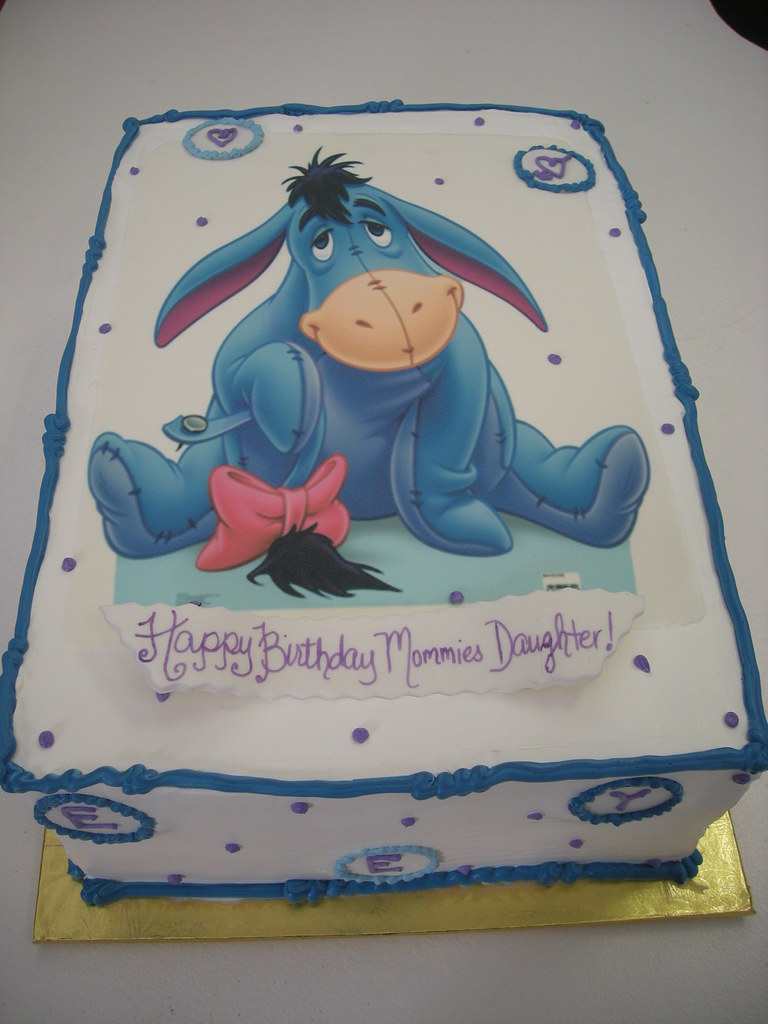 Eeyore Birthday Cake Pan