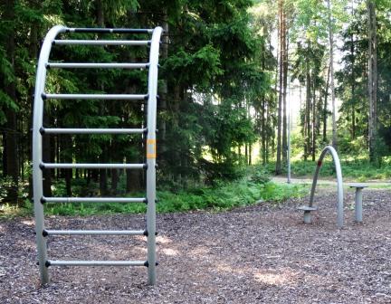 Kuva toimipisteestä: Ristihaanpuisto / Ulkokuntoiluvälineet