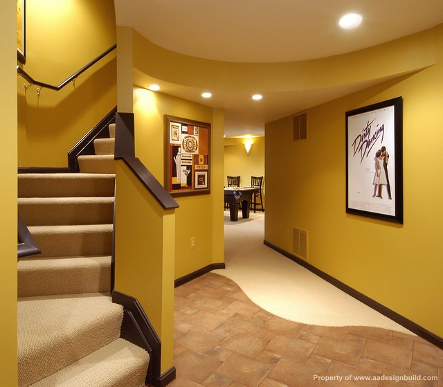 Home Design Basement Ideas