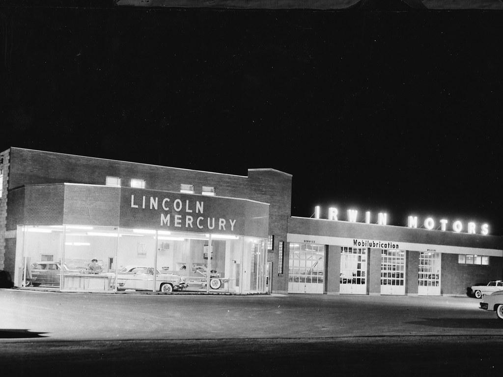 Irwin motors lincoln mercury lakeport nh 1953 bill for Irwin motors laconia nh