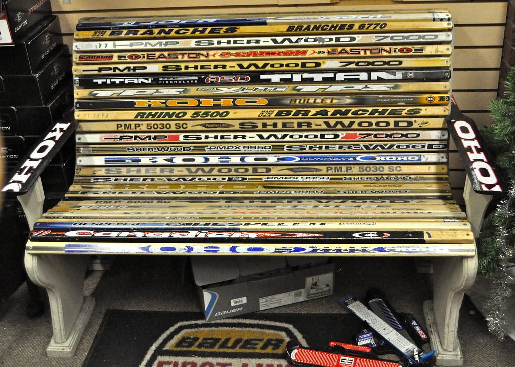 Hockey Stick Craft Ideas