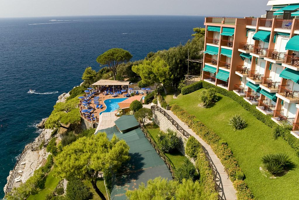 Hotel Delfino Sorrento Twin Room Sea Views