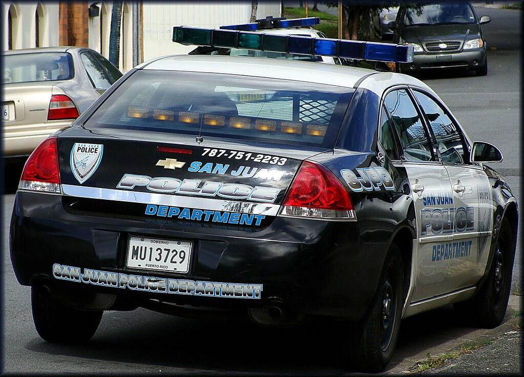 San Juan Police Department Puerto Rico Tom 225 S Del Coro