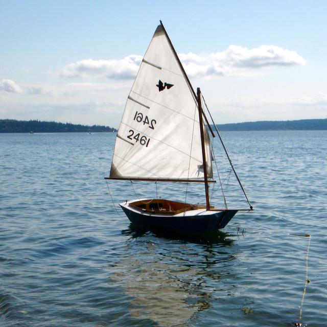 San Francisco Bay Pelican Center Wooden Boats