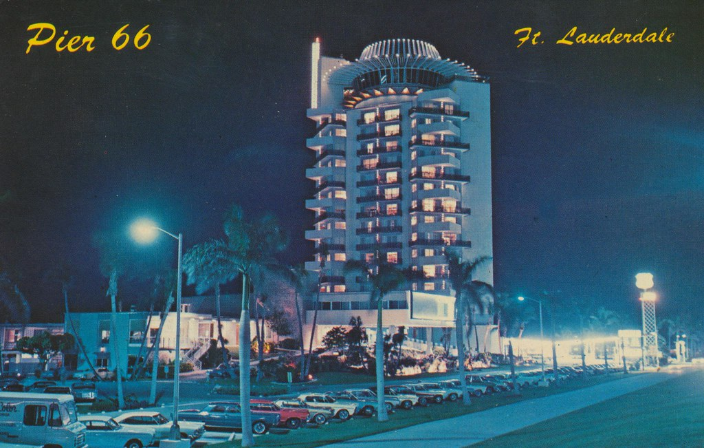 Pier 66 Motor Hotel and Restaurant - Ft. Lauderdale, Florida