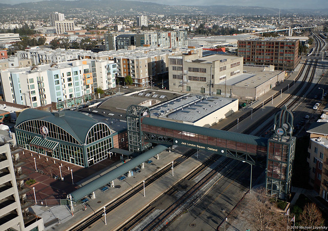 Image result for oakland jack london square amtrak