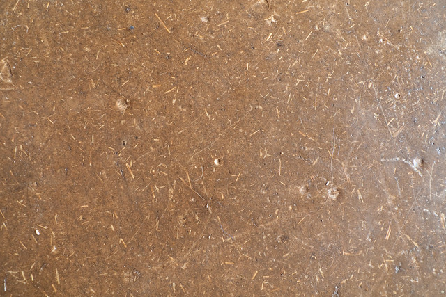 Linseed oil sealed adobe floor flickr photo sharing for Adobe floor