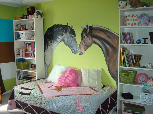 Mural horse lovers room for more for Bedroom ideas for horse lovers