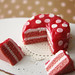 Miniature Dotted Hot Pink Cake