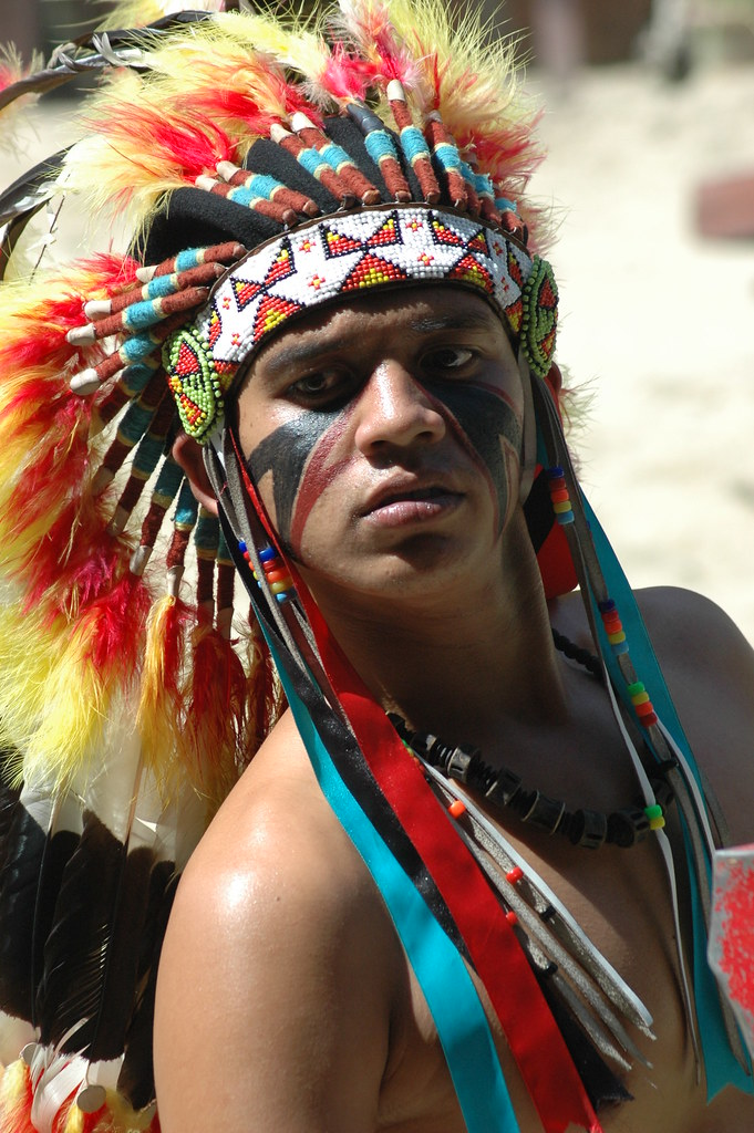 Red indian photo 2