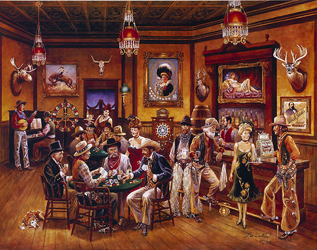 Western Saloon | A western saloon. I visited some saloons ...