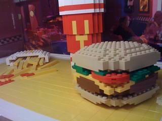 Fast Food Cheeseburger