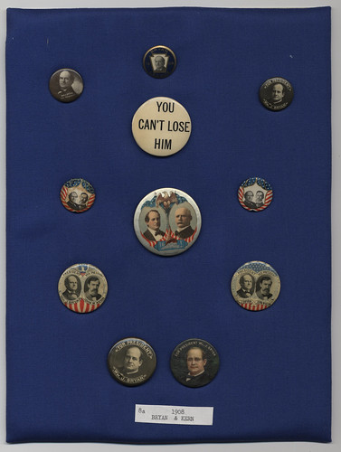 Bryan-Stevenson and Bryan-Kern Campaign Buttons, ca. 1900-1908 | by Cornell University Library