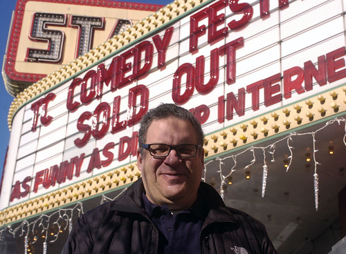 2010 Traverse City Comedy Arts Festival marquee | by tcfilmfest