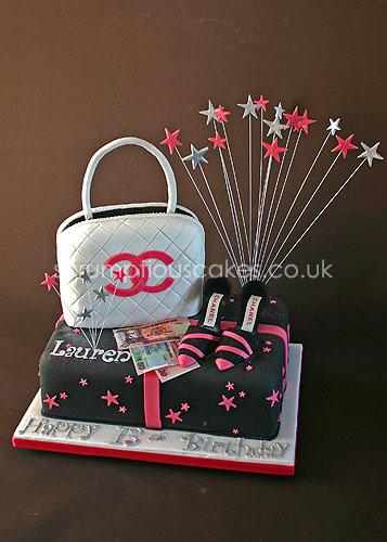 birthday cake 583 chanel bag shoes paula jane bourke flickr. Black Bedroom Furniture Sets. Home Design Ideas