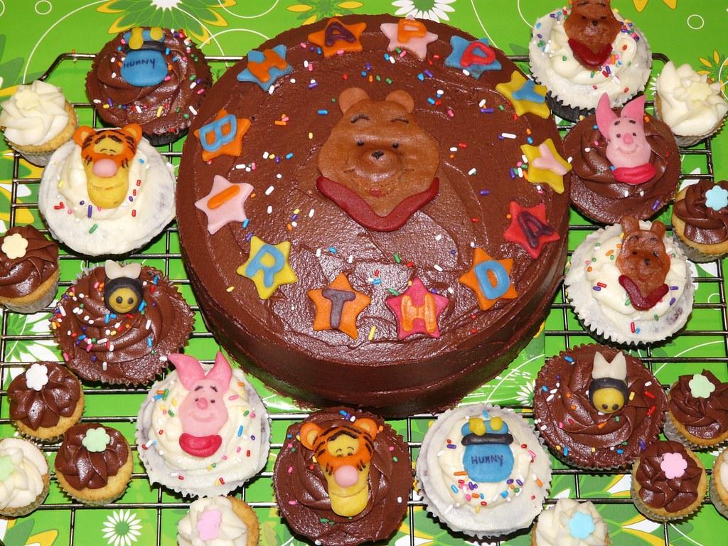 Piglet With Birthday Cake