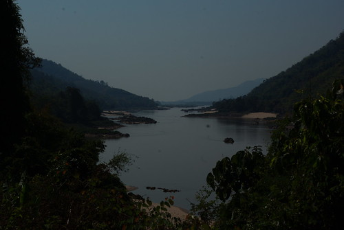 The Mekong River. Northern Laos on Left. Mayanmar on Right | by The Hungry Cyclist