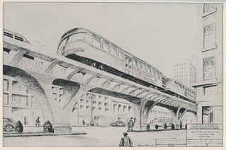 Rapid Transit for San Francisco: Elevated structure (1952) | by Eric Fischer