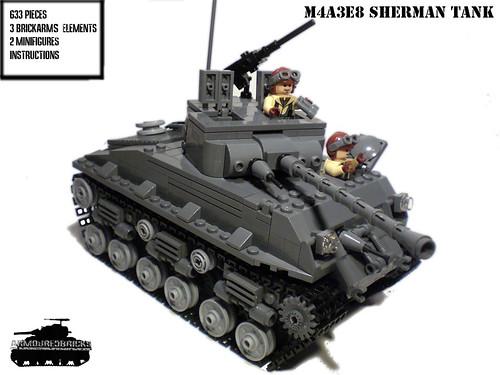 M4a3e8 Sherman Tank M4a3e8 Sherman Tank Kit