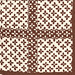 Brown Pattern Vintage Textile