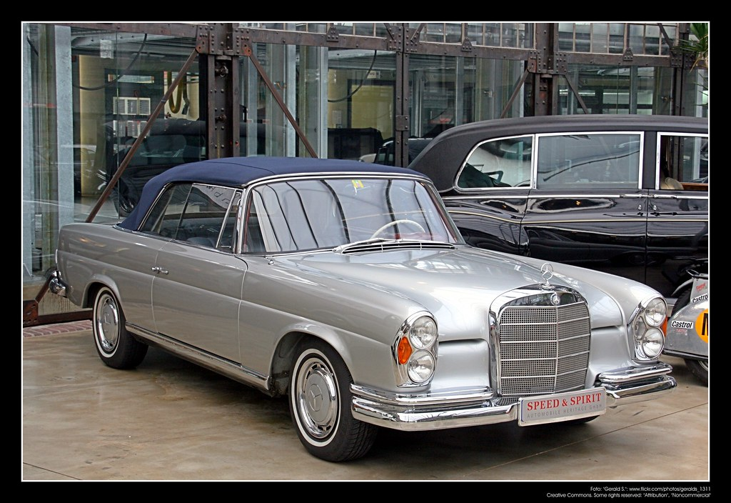 1961 mercedes benz w111 220 se cabrio 07 the. Black Bedroom Furniture Sets. Home Design Ideas