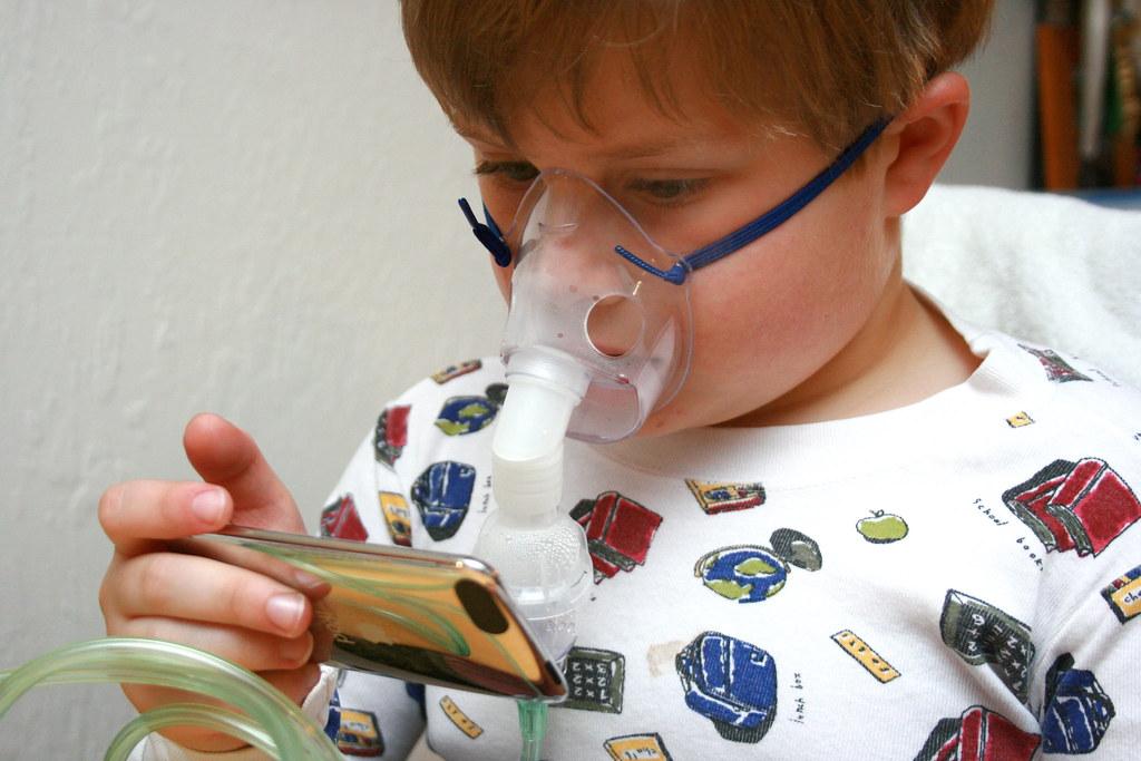 Nebulizador-alergia-niño