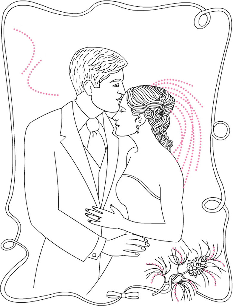 Do Bride And Groom Coloring Pages And Groom Coloring Pages