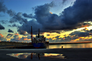 Morning at the port | by Theophilos
