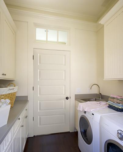 Laundry Room With Jeld Wen Interior Door Jeld Wen