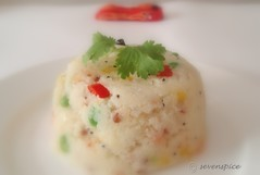 Vegetable.Upma | by Sonia U