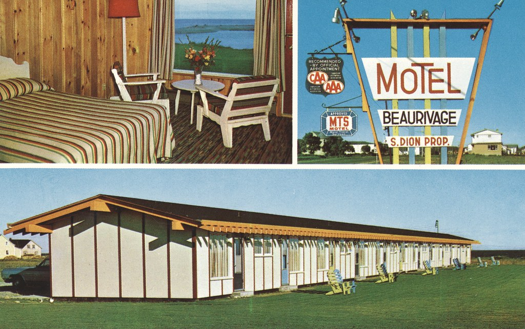 Hotel-Motel Beaurivage - Ste-Anne-des-Monts, Quebec