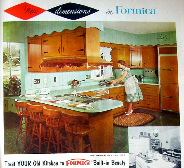 Formica kitchen i want this kitchen the green combined for I want a new kitchen