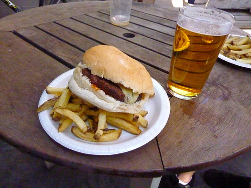 Beer and burger | by Magnus D