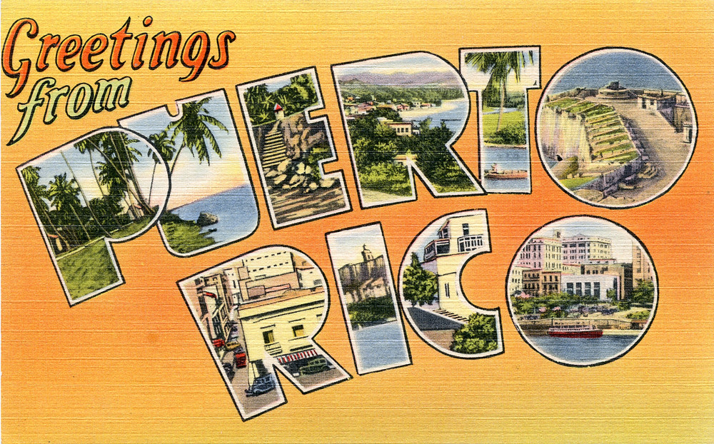 Greetings from puerto rico large letter postcard flickr greetings from puerto rico large letter postcard by shook photos m4hsunfo