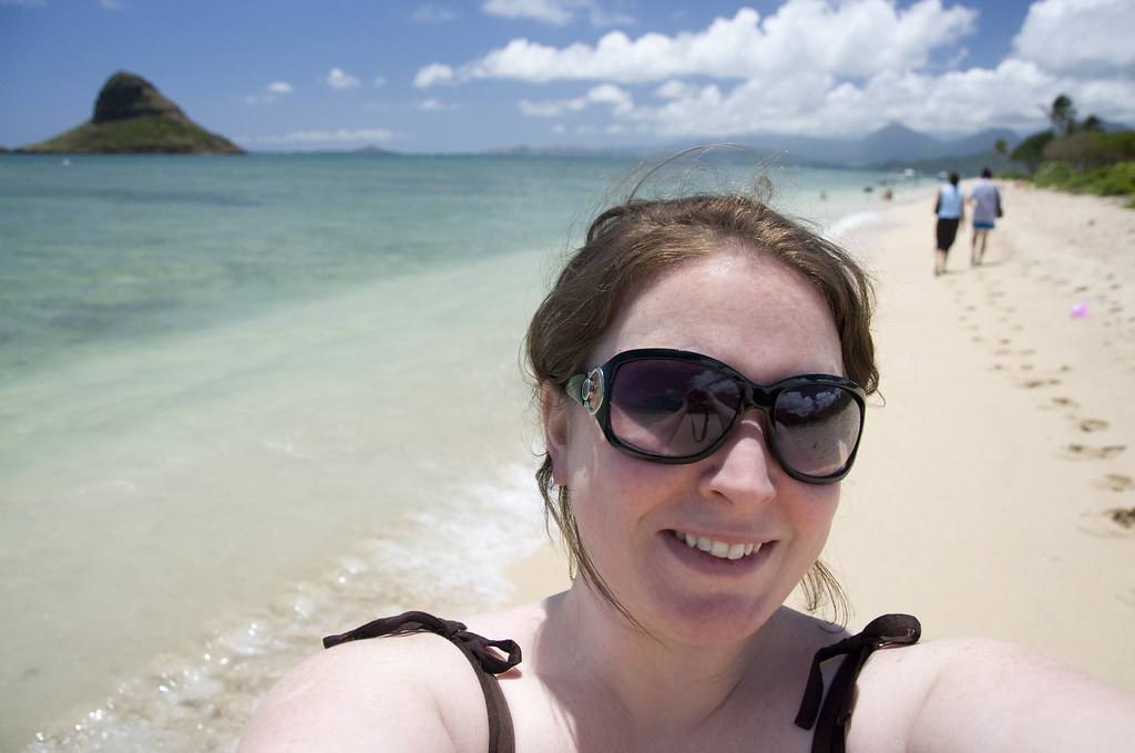 Very White Girl Kualoa Park Beach Stacy Osterman Flickr