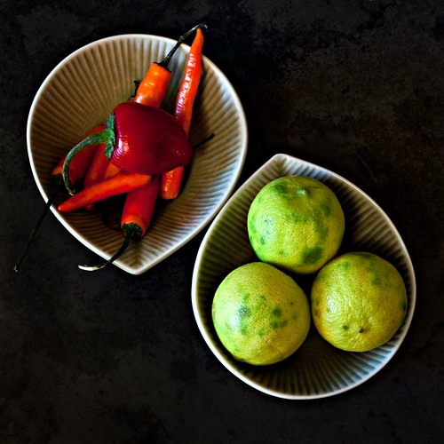 chiles and limes | by Married with Dinner