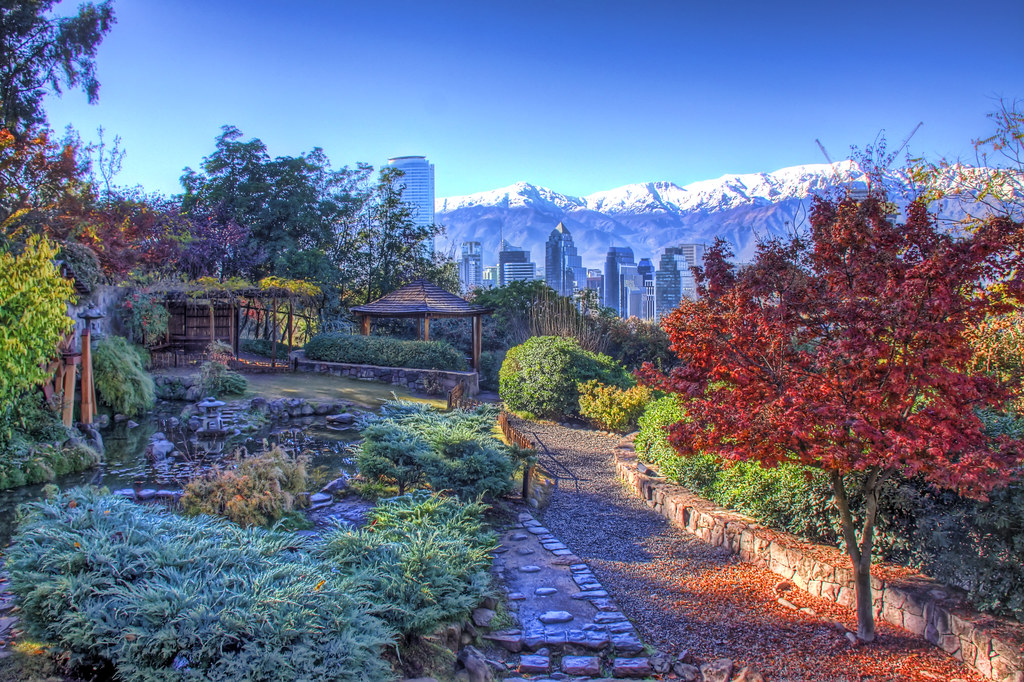 Jard n japon s jard n japon s del cerro san crist bal for Jardin japones de santiago