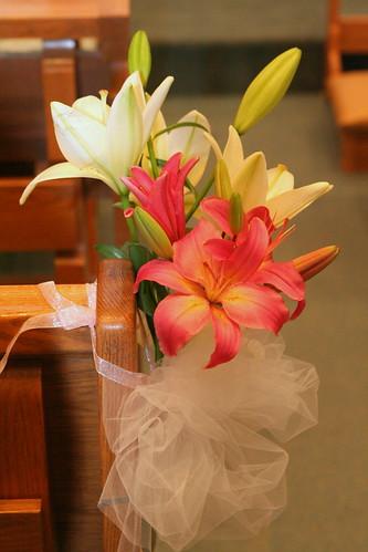 Pew Decorations For Church Weddings Diy