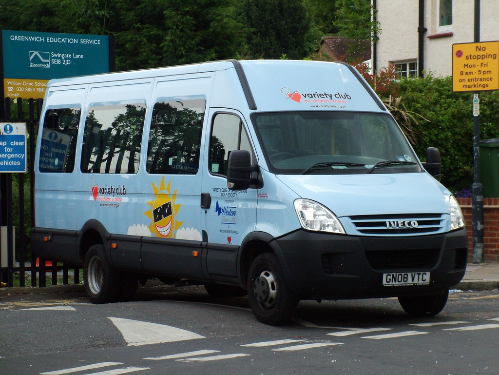 Variety Club Iveco Minibus Variety Club 2008 Iveco Daily