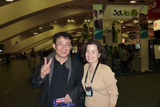 John Lee and Elizabeth at GDC 2010 | by Khronos Group