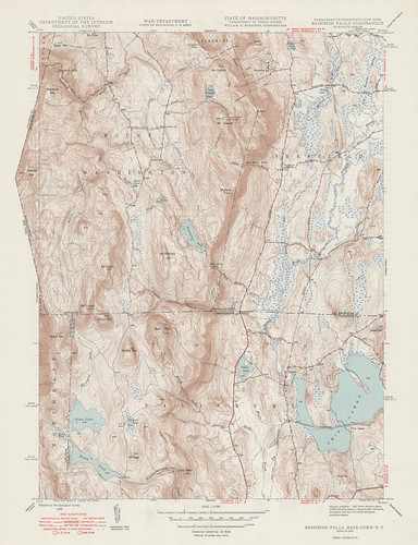Bashbish Falls Quadrangle 1949 - USGS Topographic Map 1:24,000 | by uconnlibrariesmagic