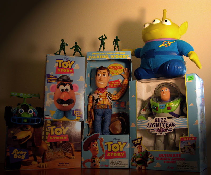 Toy Story Toys 1995 Thinkway Toys In Anticipation To