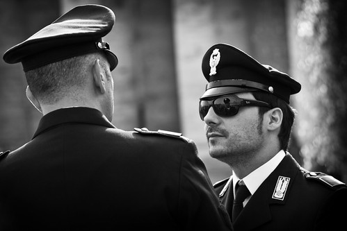 Men In Black & White, Vatican City | by flatworldsedge