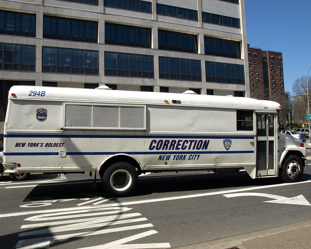 Back Up Camera Law California >> NYC Correction Department Inmate Transportation Bus, Downt… | Flickr